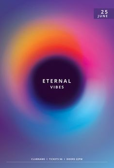 Eternal Vibes Flyer by styleWish. Download the PSD for $9 at Creativemarket