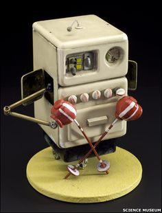 """""""Moon machine"""" from Wallace and Gromit film (Image: Science Museum)"""
