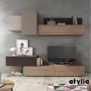 Meuble TV design mural Theoma ATYLIA Editions