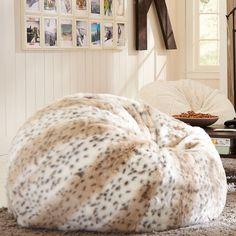 Snow Leopard Beanbag  http://rstyle.me/n/g7g25nyg6