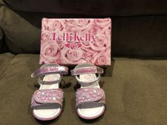 a53ebc2c Lelli Kelly Size 25 Eur Great Condition With Box Pink Glitter Sandals  #fashion #clothing