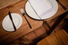 Trestle tables | Cossars Wineshed wedding venue, Canterbury, New Zealand