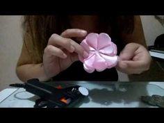 Como montar flor camélia - YouTube
