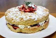 Yesterday a customer ordered a Shortcake for the shortest day of the year! Blue Carrot, Catering Services, Days Of The Year, Carrots, Breakfast, Food, Morning Coffee, Carrot, Restaurant Service