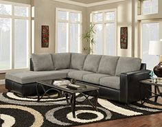 Chelsea Home Furniture Harford 2Piece Sectional Sensations Grey -- Check this awesome product by going to the link at the image.