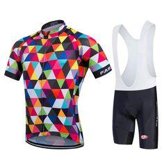 71b37e2c4 FASTCUTE Pro Cycling Jerseys Short Sleeve Cycling Uniforms ... Jersey Shorts