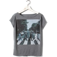 T-SHIRT THE BEATLES - T-SHIRTS ET TOPS - FEMME - France ($35) ❤ liked on Polyvore