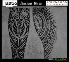 polynesian designs and patterns | polynesian tattoo design by inkwork27