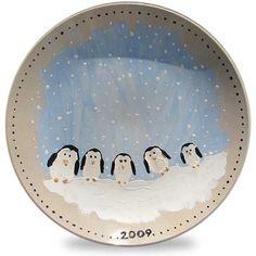 Christmas keepsake plate.. Cute fingerprints