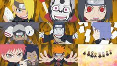They are all adorable....especially Kakuzu since he's the creepiest one and then you see him as a chibi trying to be intimidating :3