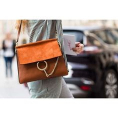 5d70e9341cff 10 street style trends you need to know from haute couture fashion week   Chloé bags Chloé s cult Faye bag is a street style standout — think of it  as the ...