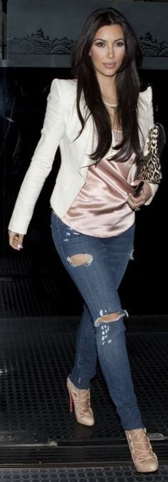 Jacket - Camilla & Marc Shoes - Christian Louboutin Purse - Givenchy Jeans - JET mytheresa Marissa