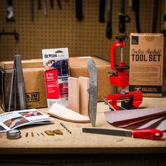 Design, craft, and wield razor-sharp perfection in the palm of your hand with the Man Crates Knife-Making Kit.
