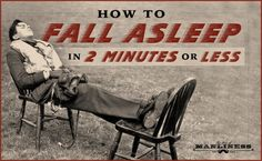 How to Fall Asleep in 2 Minutes or Less | The Art of Manliness