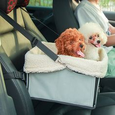 Chic Quality Comfortable Safety Dog Carriers Travel Bed Pet Car Package