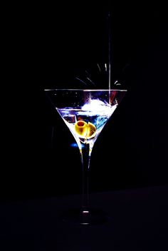 The perfect martini....   (we can just tell)
