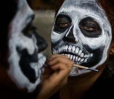 voodoo face painting