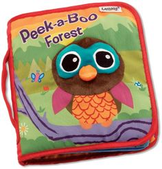 Lamaze Cloth Book, Peek-A-Boo Forest Tomy http://www.amazon.com/dp/B0043D28B4/ref=cm_sw_r_pi_dp_Iea2tb0CZGN71RY5