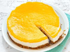 Sweet Pastries, Joko, Creme Fraiche, No Bake Cake, Cake Decorating, Sweet Tooth, Cheesecake, Food And Drink, Peach