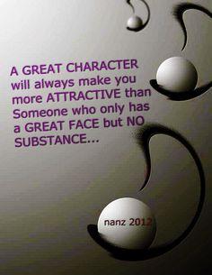 a  Nice words