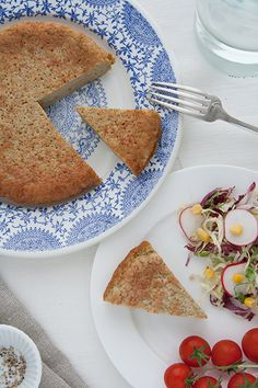Ajja is a traditional Jewish recipe from Libya: it's a delish savoury bread and egg fritter with cumin.