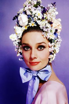 Audrey Hepburn photographed by Cecil Beaton, 1964