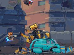 Jetpack Squad Is A New Shooter From Intrusion 2 Dev | Rock, Paper, Shotgun