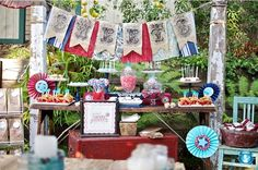 4th of July party ideas!#VintageAmericana