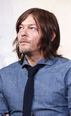 Norman Reedus attends AOL Build Speaker Series to discuss 'Sky' at AOL Studios In New York on April 14, 2016 in New York City.