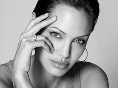 Angelina Jolie Sexy face Wallpapers