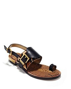 e8306d6f6a4 Sam Edelman Flat Sandals - Flynn Buckle Shoes - Bloomingdale s
