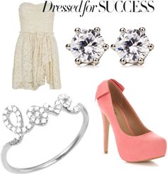 """""""Dressy Outfit #1"""" by alibirge on Polyvore"""