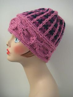 May just try the band as a winter head band.  Clever web site.  Balls to the Walls Knits: Basket Tweed Hat