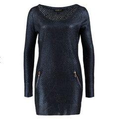 Pull femme Zalando, craquez sur les vetements Desigual, le Anna Scott SERENA Pullover bleu prix promo Zalando 130.00 € TTC