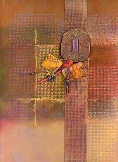 handmade book cover by Sherrill Kahn