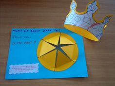 1000 images about epiphanie on pinterest arts plastiques petite section and fractions - Couronne epiphanie maternelle ...