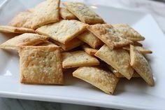 Goat Cheese & Rosemary Crackers
