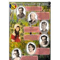 Portrete Pictori romani celebri  CT 1 Decembrie, Baseball Cards, Cabinet, Books, Clothes Stand, Libros, Closet, Book, Cupboard