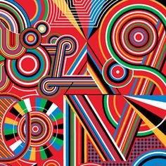 MWM Graphics | Matt W. Moore  SOOO many ideas - vectorfunk: color mixing, op art, radial balance/symmetry