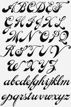 fonts cursive calligraphy ideas - Tattoo Fonts Script Font Calligraphy Ideas – – -Tattoo fonts cursive calligraphy ideas - Tattoo Fonts Script Font Calligraphy Ideas – – - handlettering Alphabet Letters To Cut Out Tattoo Lettering Fonts, Hand Lettering Alphabet, Calligraphy Handwriting, Doodle Lettering, Creative Lettering, Graffiti Lettering, Typography Letters, Lettering Design, Tattoo Script