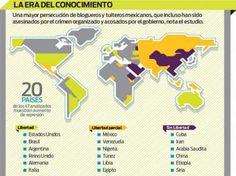 Libertad en Internet en México y el mundo