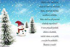 Vánoční a novoroční přání ke stažení text | Přáníčkovnice