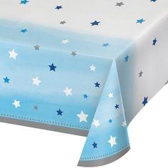 Twinkle Twinkle Little Star Boy Plastic Tablecover