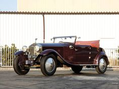 1925 Cabriolet by Manessius (chassis 59LC)