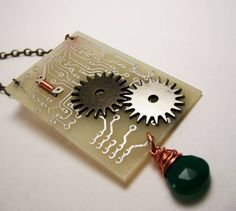 Great ideas for recycled computer parts
