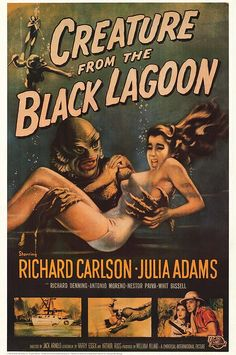 One of my fav B movies. Recently visited Wakulla Springs FL, which doubled for the Black Lagoon. Didn't see the Creature, just alligators.