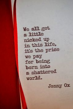 Jonny Ox : Photo