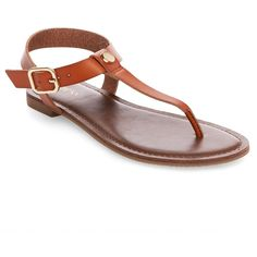 Women's Marissa Thong Sandals - Cognac (Red) 5.5