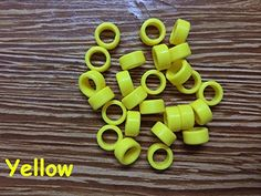 25pcs/Bag Large Type Dental Silicone Instrument Color Code Rings Yellow For Sale Shadental http://www.amazon.com/dp/B01CEVT6ZM/ref=cm_sw_r_pi_dp_axT9wb18S3HW3