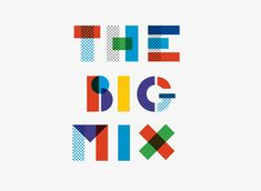 El festival benéfico 'The Big Mix' presenta su nueva imagen The Effective Pictures We Offer You About indie Music A quality picture can tell you many things. You can find the most beautiful pictures t Event Logo, Event Branding, Kids Branding, Branding Design, Logo Branding, Data Logo, Music Festival Logos, Science Festival, Typographie Logo